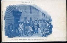 LES OEUVRES DE LA MER MARINS 1898 TRES RARE - Autres Communes