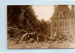 Carte Photo à Identifier - Architecture - Chateau - Cartes Postales