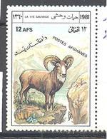 Afghanistan: Yvert N° 1075**; MNH; Mouflon - Afghanistan