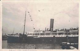 PAQUEBOT - DOUKALA - CARTE PHOTO RARE - LIGNE DU MAROC. - Steamers