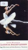 Télécarte BALLET (171) Ballette Dance Dancing Tanzen Danser Ballare Bailar Dançar Phonecard - Télécartes