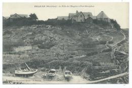 CPA BELLE ILE, LA VILLA DE L'ANGLAIS A PORT GOULPHAZ, MORBIHAN 56 - Belle Ile En Mer