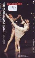 Télécarte BALLET (153) Ballette Dance Dancing Tanzen Danser Ballare Bailar Dançar Phonecard - Télécartes