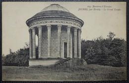 CPA - Etréchy, Parc De Jeurre, Le Grand Temple - Etrechy