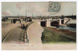 Calais (Pas-de-Calais)  Jardin Richelieu + Pont Richelieu    LES 2 CARTES - Calais