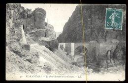 El-Kantara: Le Pont Romain Et Les Gorges - Algérie