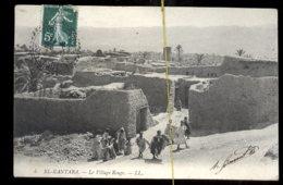 El-Kantara: Le Village Rouge - Algérie