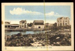 Port Aux Poules: Un Coin Des Villas - Algérie