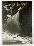 Harmegnies Dour Photo 8,5cm X 6cm Vol Des Cloches Par Les Allemands ?? - Belgium