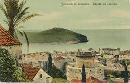 Croatia Dubrovnik, Ragusa (Gruz) 1908 / Dubrovnik Sa Lokrumom, Ragusa Mit Lakroma / Bogisic - Croatia