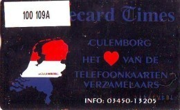 Telefoonkaart  LANDIS&GYR  NEDERLAND * RCZ.100  109A * ATCs Telecard Times * TK * ONGEBRUIKT * MINT - Nederland