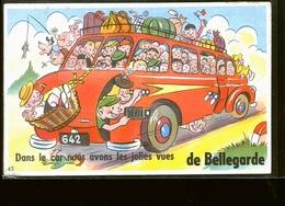 BELLEGARDE CARTE SYSTEME                JLM - Bellegarde-sur-Valserine