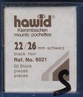 Paquet De 50 Pochettes Noires Hawid Simple Soudure Format 22 X 26 à - 50% - Mounts