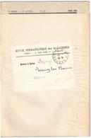 ISSOUDUN Port Payé Indre Revue Thérapeutique Alcaloïdes Ob P.P Issoudun Ob 29 3 1926 Dest Evaux Creuse - Postmark Collection (Covers)