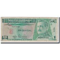Billet, Guatemala, 1 Quetzal, 1990, 1990-01-03, KM:73a, B - Guatemala