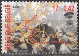 Belgique 2000 COB 2946 Neuf ** Cote (2016) 1.00 Euro Conférence De Yalta - Belgique
