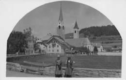 "08724 ""(BZ) SAN LORENZO DI SEBATO-ST. LORENZEN"" ANIMATA, FOTO MARINER BRUNICO SU CARTA GEVAERT. CART NON SPED - Bolzano (Bozen)"