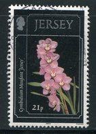 JERSEY- Y&T N°872- Oblitéré (fleurs) - Autres
