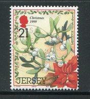 JERSEY- Y&T N°911- Oblitéré (fleurs) - Sonstige