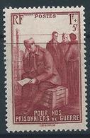 FRANCE 1941 - YT N°475 - 1 F. + 5 F. Brun Carminé - Au Profit Des Prisonniers De Guerre - Neuf** - TTB Etat - France