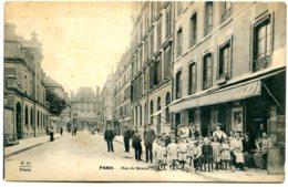 75003 PARIS - Rue De Béarn - Groupe D'enfants Devant Le Café Gabert - Arrondissement: 03