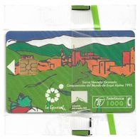 Spain - Campeonato Mundial Esqui Alpino '95 - CP-062 - 01.1995, 1000PTA, 54.000ex, NSB - Conmemorativas Y Publicitarias