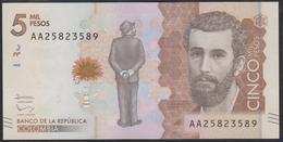 Colombia 5000 Pesos 2015 P459 UNC - Colombia