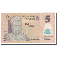 Billet, Nigéria, 5 Naira, 2015, KM:38, TB - Nigeria