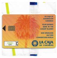 Spain - Caja Canarias - CP-167 - 08.1999, 1000PTA, 35.000ex, NSB - España