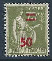 FRANCE 1940-41 - YT N°480 - 50 Sur 75 C. Olive - Type Paix - Neuf** - TTB Etat - France