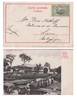 Belgisch Congo Belge 1911 Cachet Matadi Indigenes En Service Afrique Etnique Etnic Africa R. Visser Nr. 19 - Congo Belge