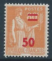 FRANCE 1940-41 - YT N°481 - 50 Sur 80 C. Orange - Type Paix - Neuf** - TTB Etat - France