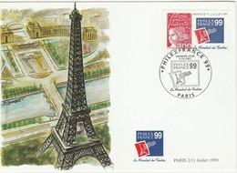 Philexfrance 99 -1er Jour 06/12/1997 - Paris - Maximum Cards