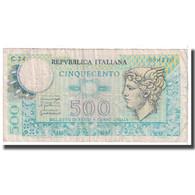 Billet, Italie, 500 Lire, 1976, 1976-12-20, KM:95, B - [ 2] 1946-… : République