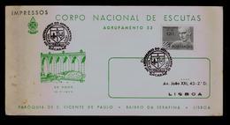(CNE 30th Anniv. Group53) Scouting Scoutisme Portugal Lisboa 1972 Scouts Boy Scouts (pmk 2R-cover) Gc3647 - Scoutisme
