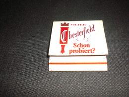 Chesterfield Schon Probiert - Cajas De Cerillas (fósforos)