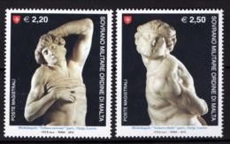 SMOM 2010 Sass.1035/36 MNH/** VF - Malte (Ordre De)
