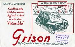 "BUVARD ""4 CV. RENAULT"" - Automobile"