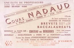 "BUVARD ""ENSEIGNEMENT"" - Buvards, Protège-cahiers Illustrés"