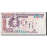 Billet, Mongolie, 100 Tugrik, 2008, KM:65b, TTB - Mongolie