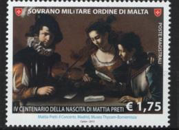 SMOM 2013 Sass.1154 MNH/** VF - Malte (Ordre De)