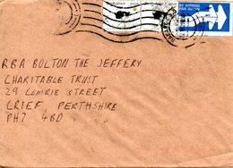 ZIMBABWE. N°429 De 2000 Sur Enveloppe Ayant Circulé. Autruche. - Autruches