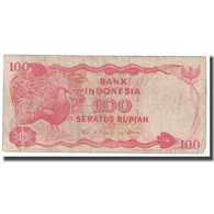 Billet, Indonésie, 100 Rupiah, 1984, KM:122a, B - Indonésie