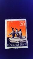 Haiti 1958 Animal Manchot Science Penguin Yvert 385 ** MNH - Haiti