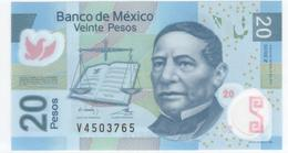 Mexico 100 Peso 2016 P122nV UNC - Mexique