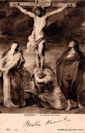 CPA RUBENS - LE CHRIST EN CROIX - MUSEE DU LOUVRE - Museos