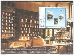 Belgique 1994 COB Bloc Feuillet 69 Neuf ** Cote (2016) 7.50 Euro Musée De La Pharmacie - Blokken 1962-....