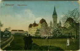 ROMANIA -  Timișoara / TEMESVAR - FOGYMNAZIUM - TRAIN - EDIT F.R.F. 1910s  (BG1050) - Romania