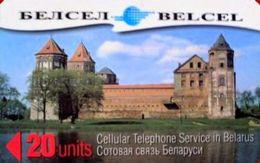 BELARUS : BELMG7 20u BELCEL Mirski Castle USED - Bielorussia