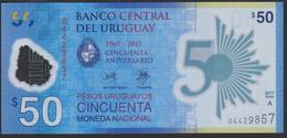 Uruguay 50 Pesos 2018 Pnew UNC - Uruguay
